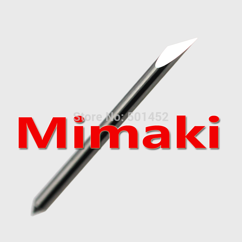 free shipping mix size mimaki blade cutting plotter vinyl cutter knife engraving tool bits free shipping 10pcs 6x25mm one flute spiral cutter cnc router bits engraving tool bits cutting tools wood router bits