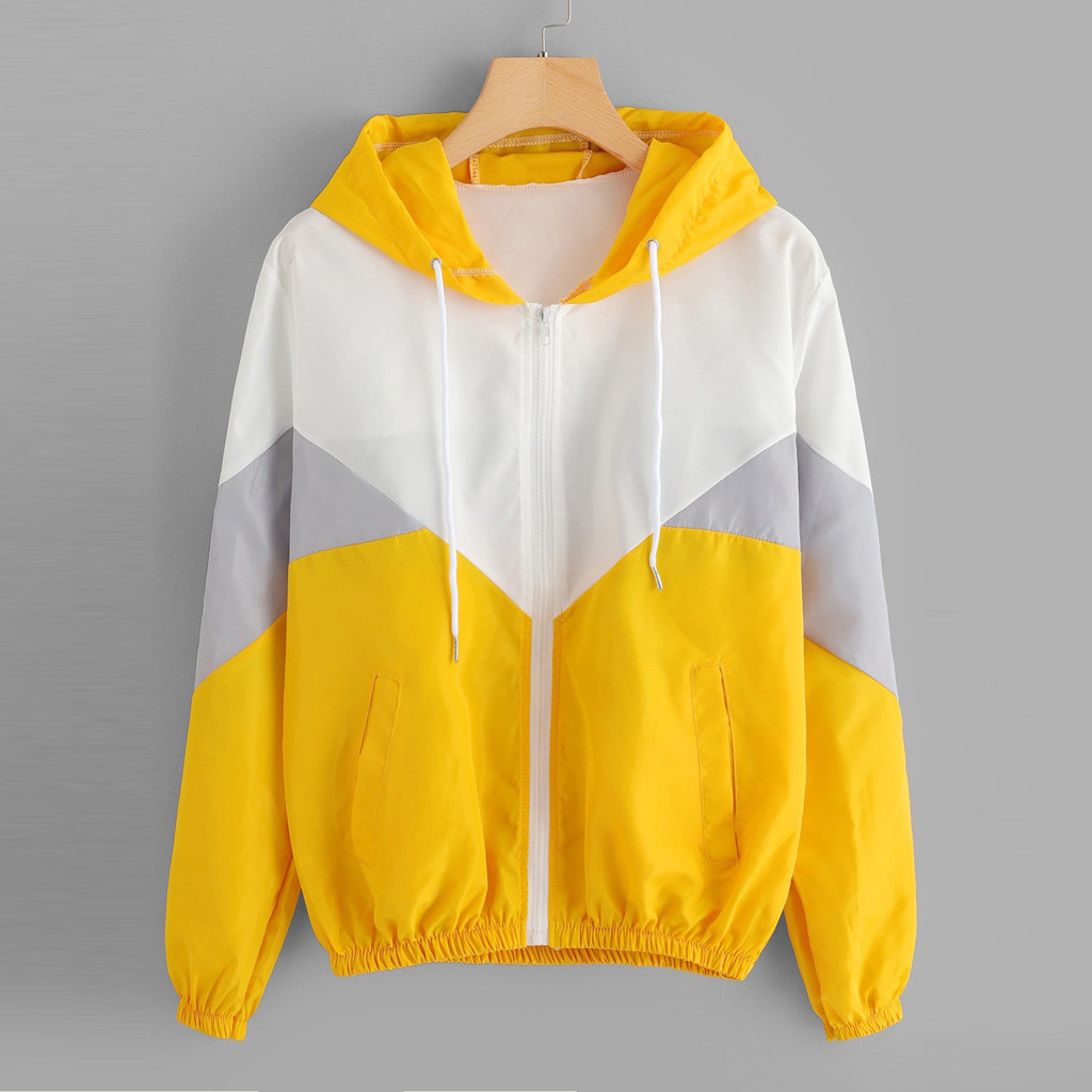 Hoodies Sweatshirts Sport-Coat Drawstring Women Clothes Kawaii Harajuku Sunscreen Ultralight title=