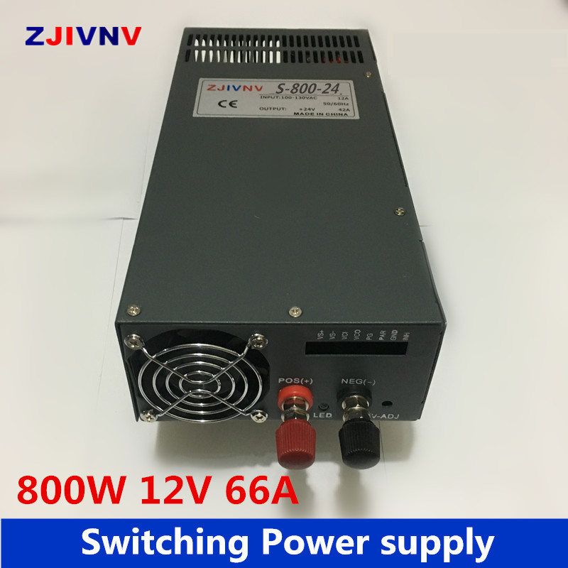 industrial and led used 800W 12V 66a switching power supply AC to DC 12v power supply input 110v or 220v alimentation 12v industrial and led used 800w 15v 53a switching power supply ac dc power supply input 110v or 220v power supply unit adapter 15v