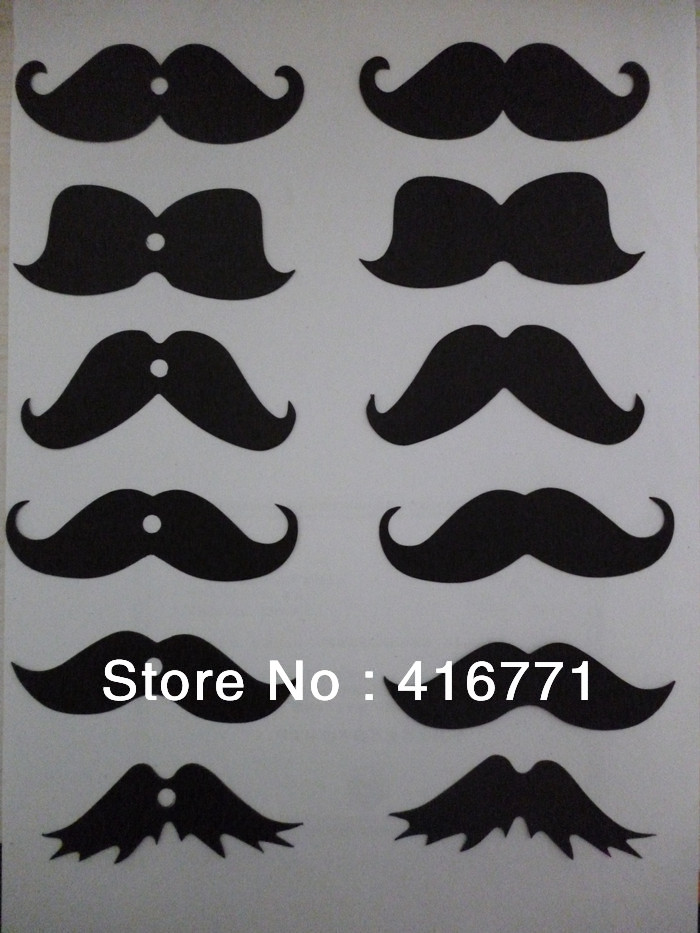 800pcs lot free shipping funny fake mustache lips for straw