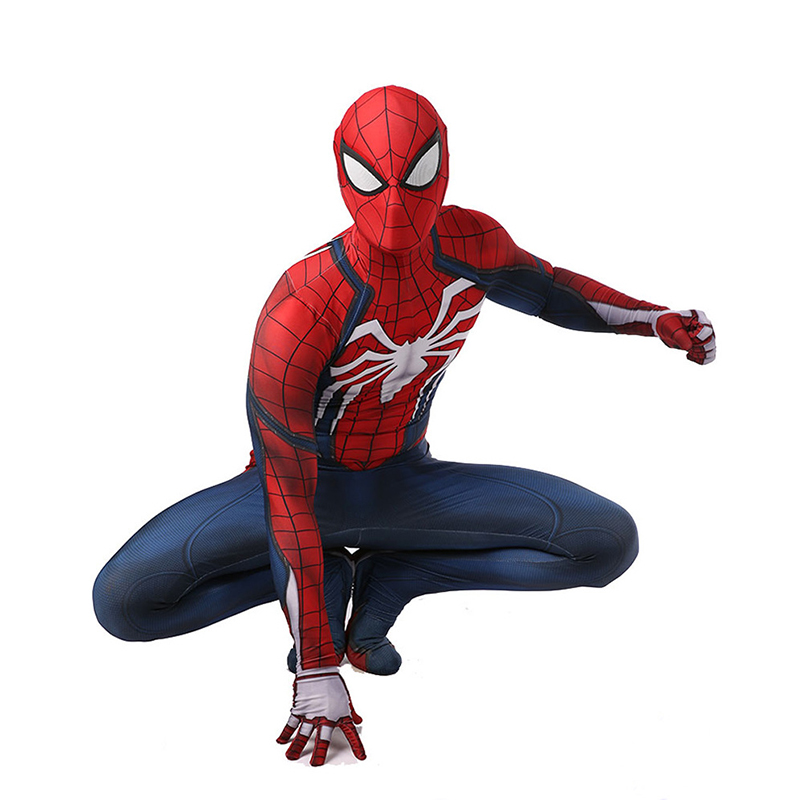 Superhero Bodysuit Suit Jumpsuits Insomniac Games Spiderman Cosplay Costume  Costumes For Halloween