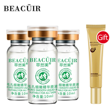 BEACUIR Shrink Pores Hyaluronic Acid liquid Moisturizing Face Serum+Snail Eye Cream Whitening Plant Skin Care Anti-Aging Wrinkle