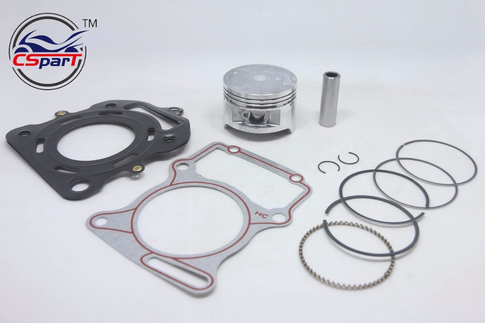 67mm 16mm Lifan  Zongshen Loncin CG 250CC CG250 250 piston ring Gasket water cooled ATV Quad Dirt Bike Motorcycle