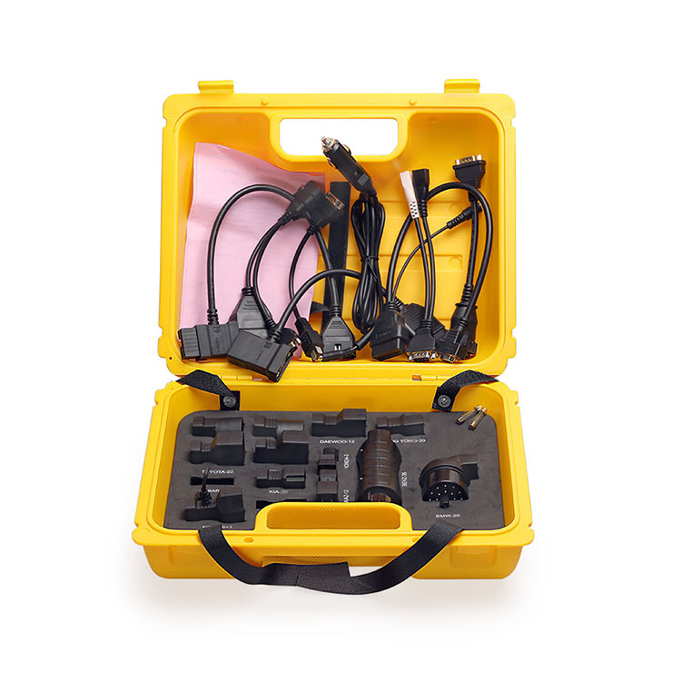X431 yellow box full Set Package cable for X-431 easydiag adapter LAUNCH DIAGUN IV PROMINI 2017 new released launch x431 diagun iv powerful diagnostic tool with 2 years free update x 431 diagun iv better than diagun iii