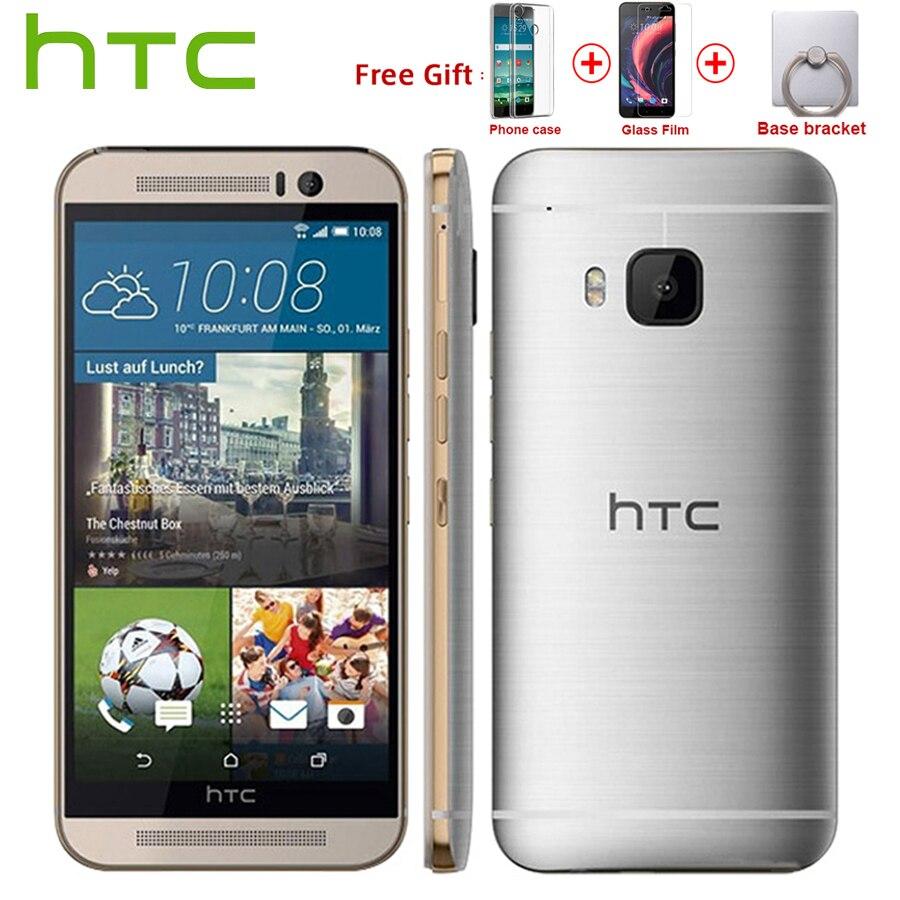 Version EU HTC One M9 4G LTE téléphone Mobile Snapdragon 810 Octa Core 3GB RAM 32GB ROM 5.0 1920x1080P double caméra 2840mAh Callphone