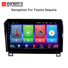 Car Android 8.1 Multimedia Player for TOYOTA Sequoia Tundra 2008 GPS Navigation Device bluetooth steering wheel control support(China)