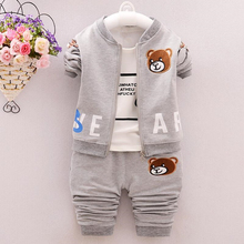 Anlencool 2019 Real Roupas Infantil Meninas Children Suit Boys Sweater New Spring And Autumn Baby Clothing Brand Clothes Sets