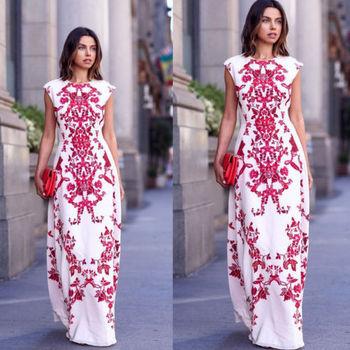 Women Boho Maxi Dress