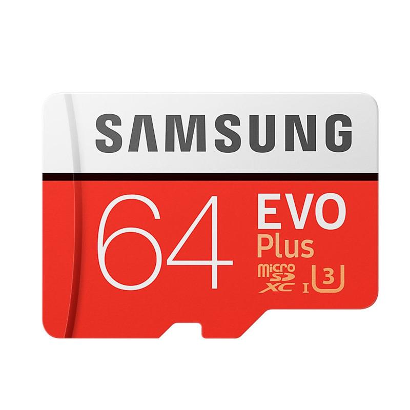 SAMSUNG Microsd Card 256G 128GB 64GB 32GB 16GB 8GB 100Mb/s Class10 U3 U1 SDXC Grade EVO+ Micro SD Card TF Flash Card Memory Card