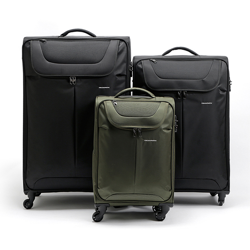 Letrend Large Capacity 32 inch Canvas Rolling Luggage Spinner Wheel Suitcase  Trolley Men Carry On Women password Travel Bag-in Rolling Luggage from  Luggage ... 5a1f0187f272