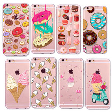 coque iphone 6 silicone donuts