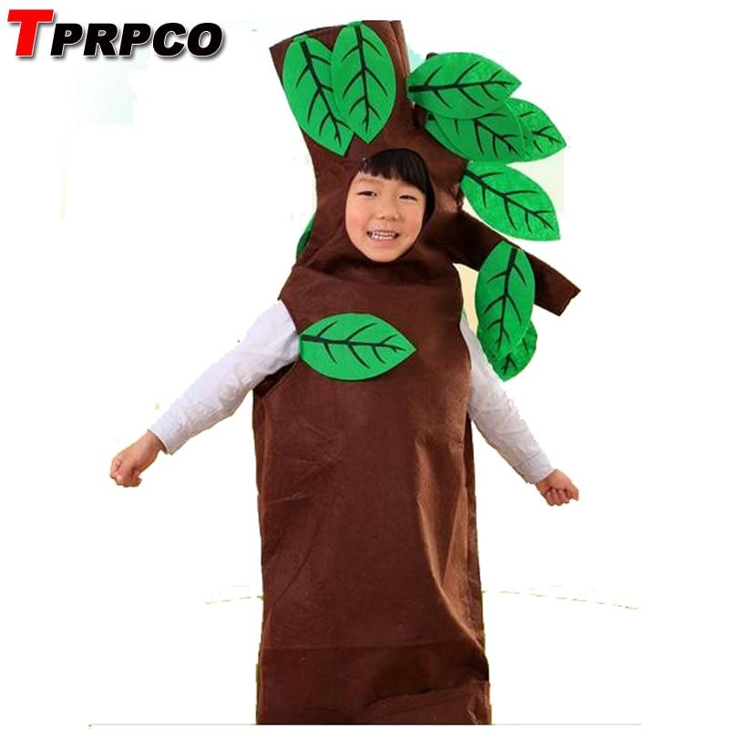 TPRPCO Children Kids Halloween Party Children's Day Cartoon Fruit Tree Costumes Cosplay Clothes Boy Girl NL948