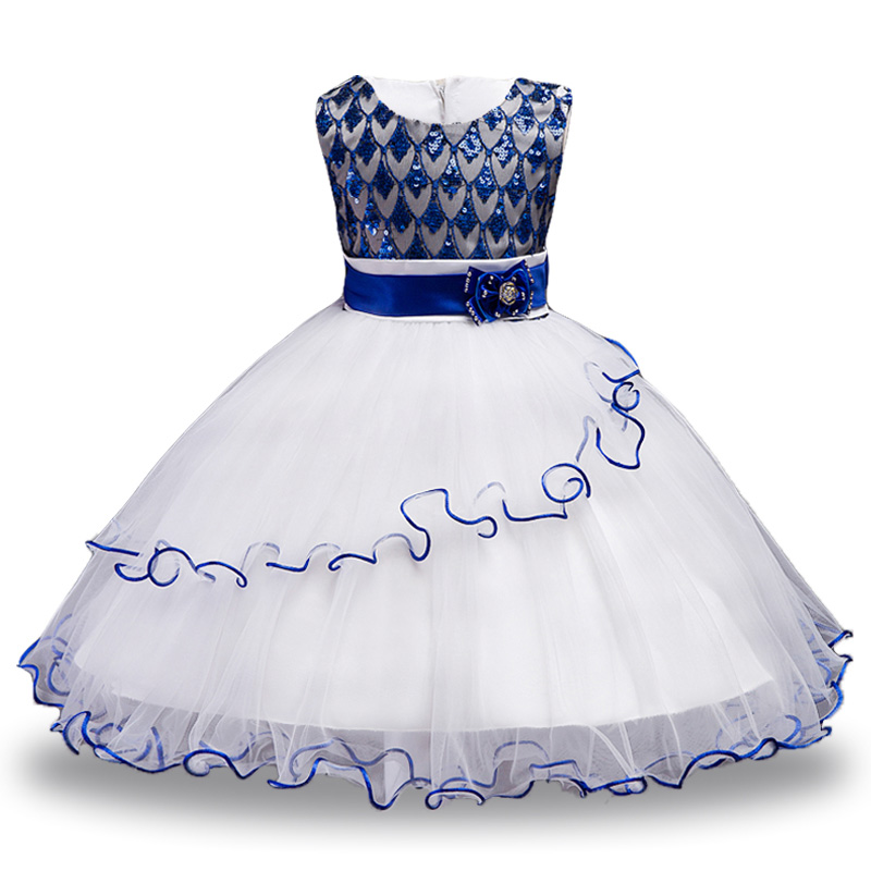 82caacc8f Party Dresses Children Fancy Costume Summer Dress For Girls Sequin...