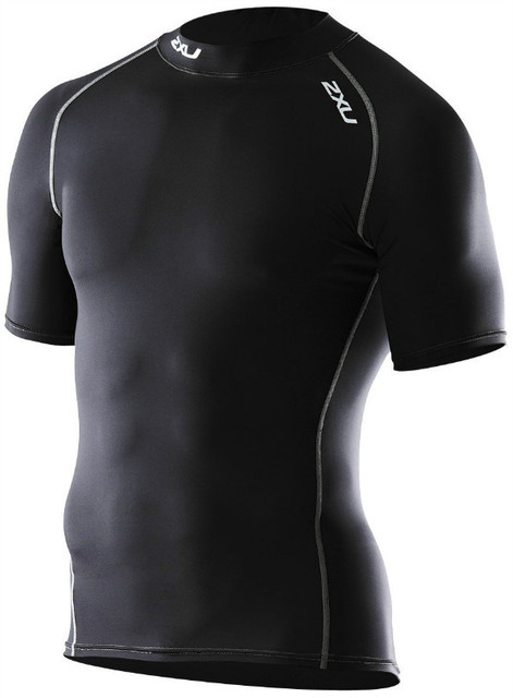 b1edc77181 2XU Brand male compression tights fitness clothing men's short sleeve  compression top running T-shirt speed drying bicycle tees