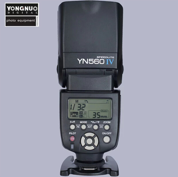 Yongnuo YN-560 IV 2.4G Wireless Trigger Flash Speedlite for Canon Nikon Pentax Sony DSLR 4 in 1 4 channel 433mhz wireless remote flash trigger set for canon nikon pentax camera