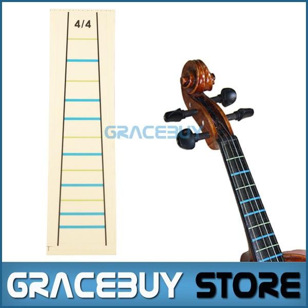 44 Fiddle Fingerboard Chart Tape Fret Marker Stikers 1 Pcs Violin