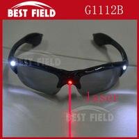 Freeshipping12pcs/ロットファッションledライトアップフラッシュメガネledレーザー眼鏡を応援小道具パーティー