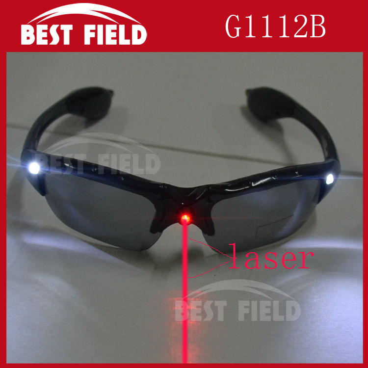 Freeshipping12pcs/lot Fashion LED Light Up Flash Glasses LED laser eyeglasses Cheer the Props for the Party, Disco Bar, Festival