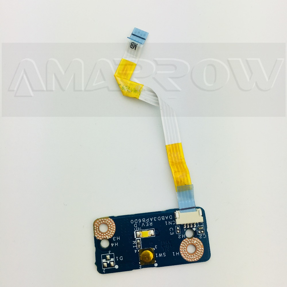 GENUINE Toshiba Satellite L850 Power button Board Flex Cable