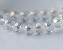 Free Shipping! Wholesale AAA Top Quality Crystal 5000 Round Faced Bead 4mm - Clear AB colour 1000pcs
