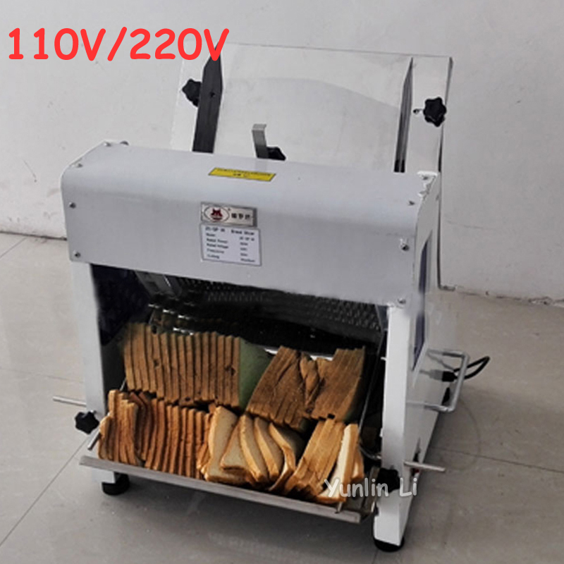 110V/220V Commercial Bread Slicers Electric Toast Cutting Machine Sandwiches Slicer Bread Sheet Cutter Q31