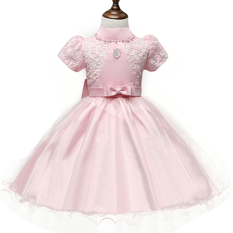 Vintage lace baby girl dress formal pageant wedding easter for Wedding dresses for baby girls