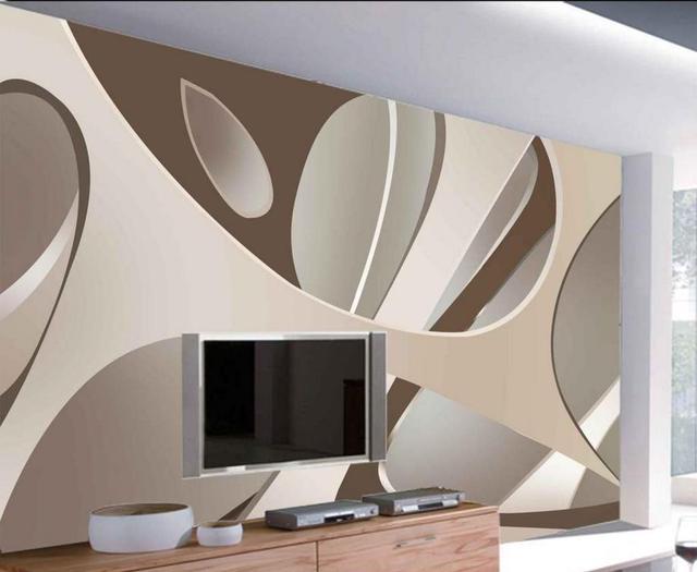 Buy 3d abstract wallpaper custom for Abstract mural wallpaper