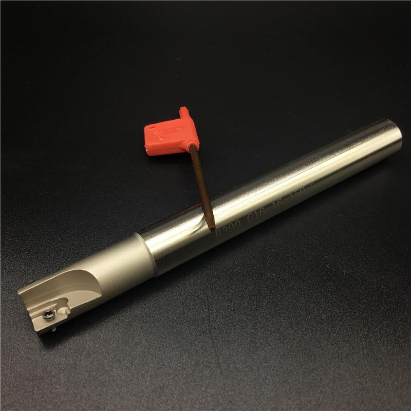 R390 C16 16 150 16mm 150Long frezavimo pjoviklio laikiklis R390 - Staklės ir priedai - Nuotrauka 3