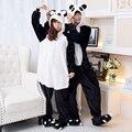 Pijamas Mujer Dormir ropa de Dormir de Franela Salón Pijamas Panda Panda Onesies para Adultos Animal Pijama de Una Pieza