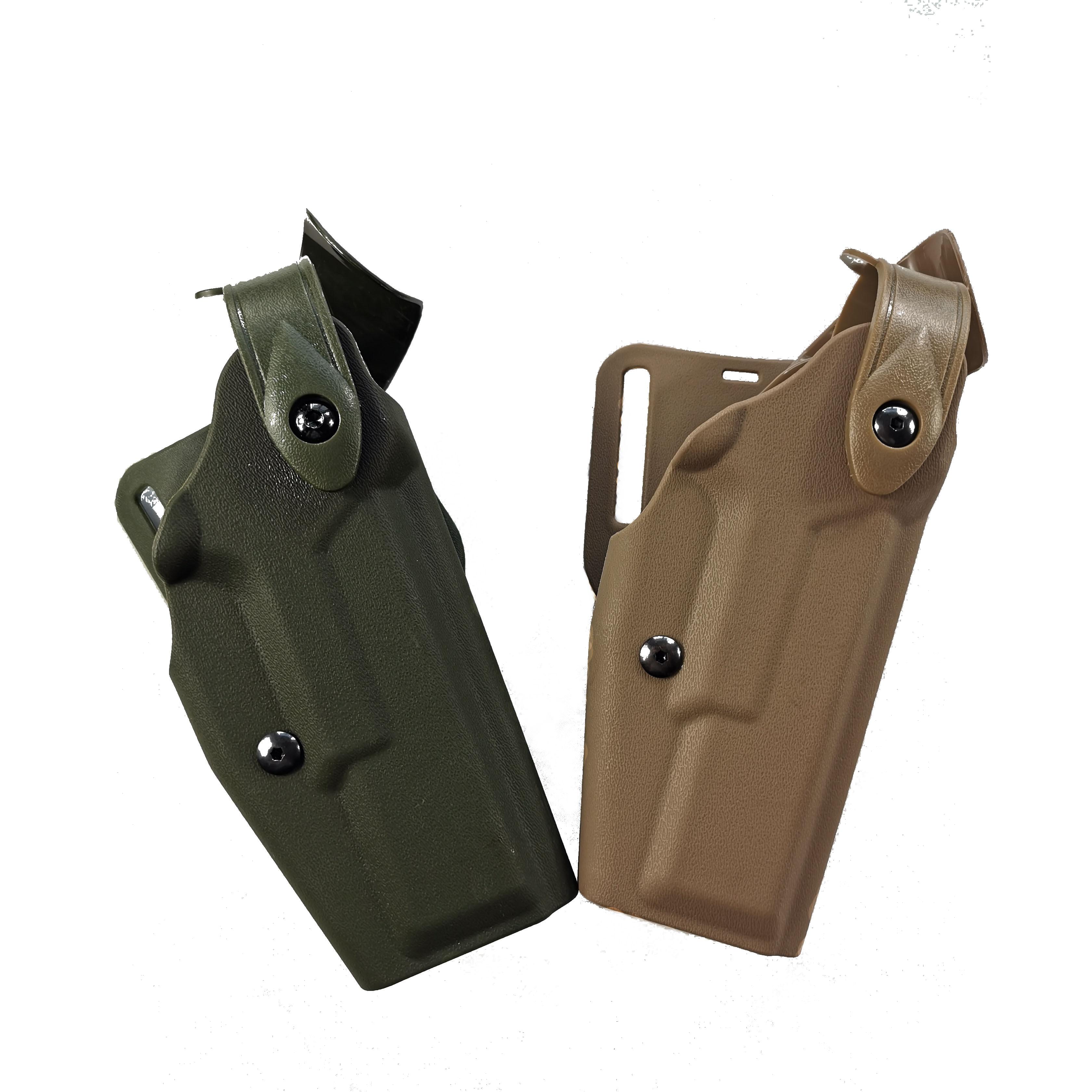 Safariland tactique polyuréthane Glockck ceinture Holster Gl0ck pistolet taille Holster Glock 17 19 22 23 31 32 Airsoft pistolet Holster