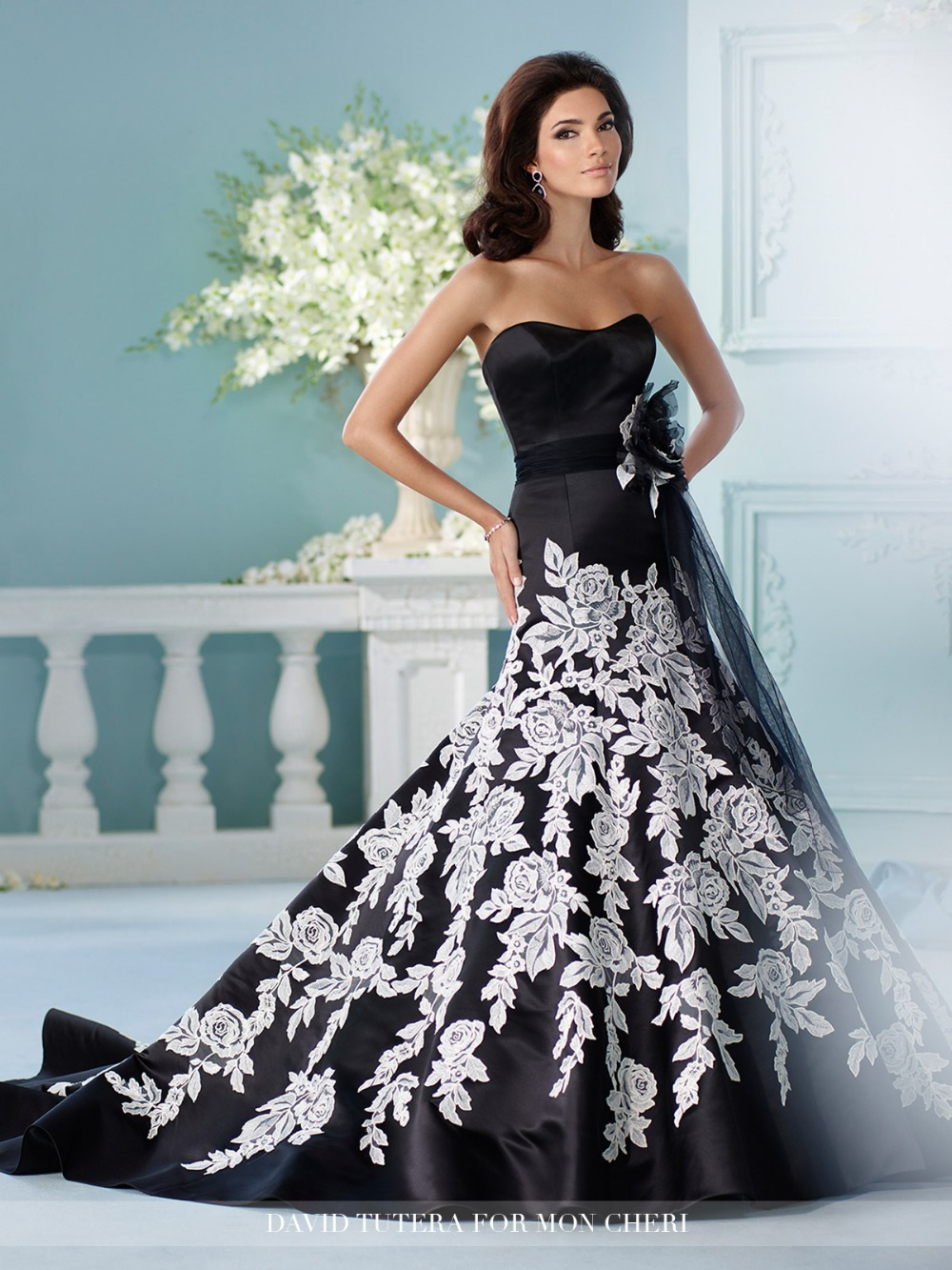 Fine Vestidos De Novia En Negro Festooning - All Wedding Dresses ...