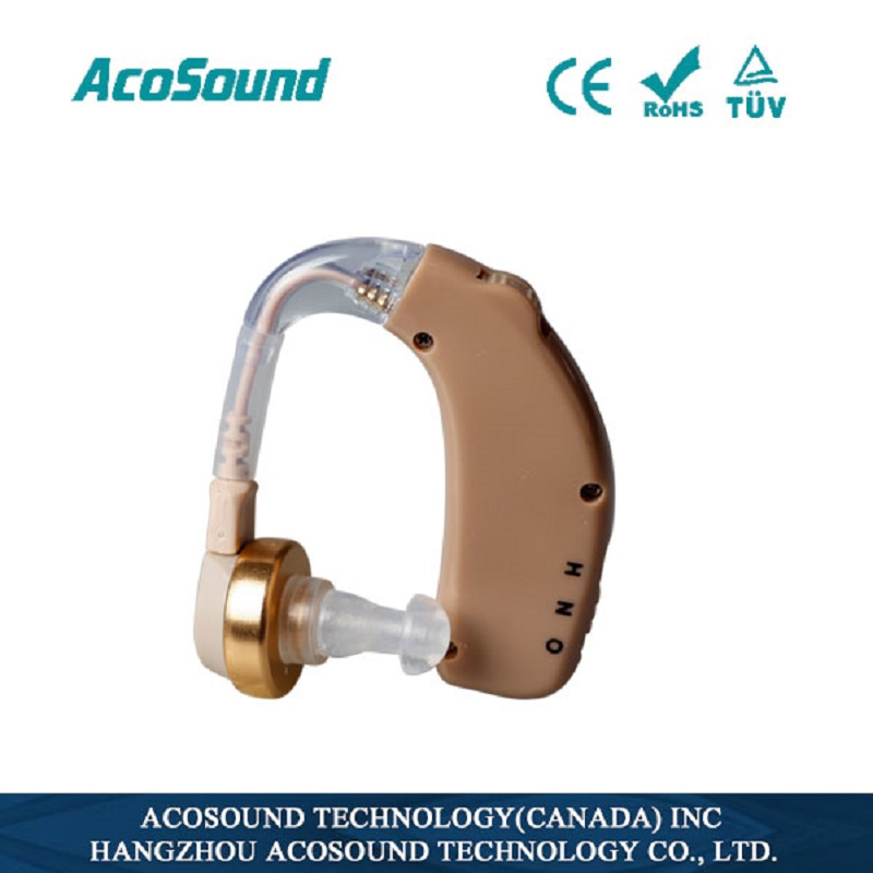 Acosound Rechargeable Hearing Aids Recharger Hearing Sound Amplifier Ear Care Mini BTE Hearing Aid Hearing Device s 109s rechargeable ear hearing aid mini device sordos ear amplifier hearing aids in the ear for elderly apparecchio acustico