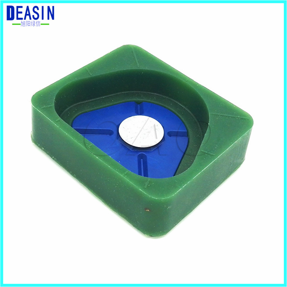 Dental Lab Magnetic Silicone Plaster Model Former Base Molds Full Arch 4 Size Canbe Chosen