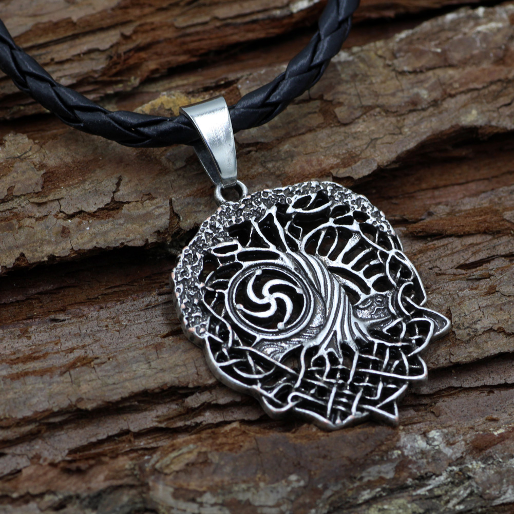 Tree of life necklace family tree slavic rod symbol pendant tree of life necklace family tree slavic rod symbol pendant viking pendant celtic jewelry in pendant necklaces from jewelry accessories on aliexpress buycottarizona Gallery
