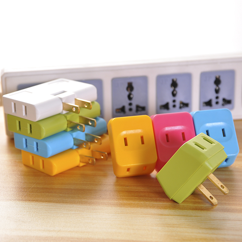 Plug Converter Socket Travel Portable Conversion Multi use Converters Rotatable Socket Stackable Power Supply Household Charging