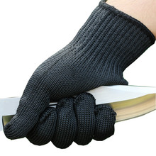 Tactical outside sports activities glove top quality Steel Metal prick resistant security Cut Resistant Anti Abrasion Gloves Black
