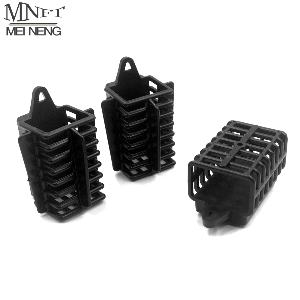 MNFT 1Pcs Fishing Trap Basket 30g 50g 70g ABS Lead Fishing Feeder Tool Accessories Fish Bait Cage Fish Bait Lures Feeder