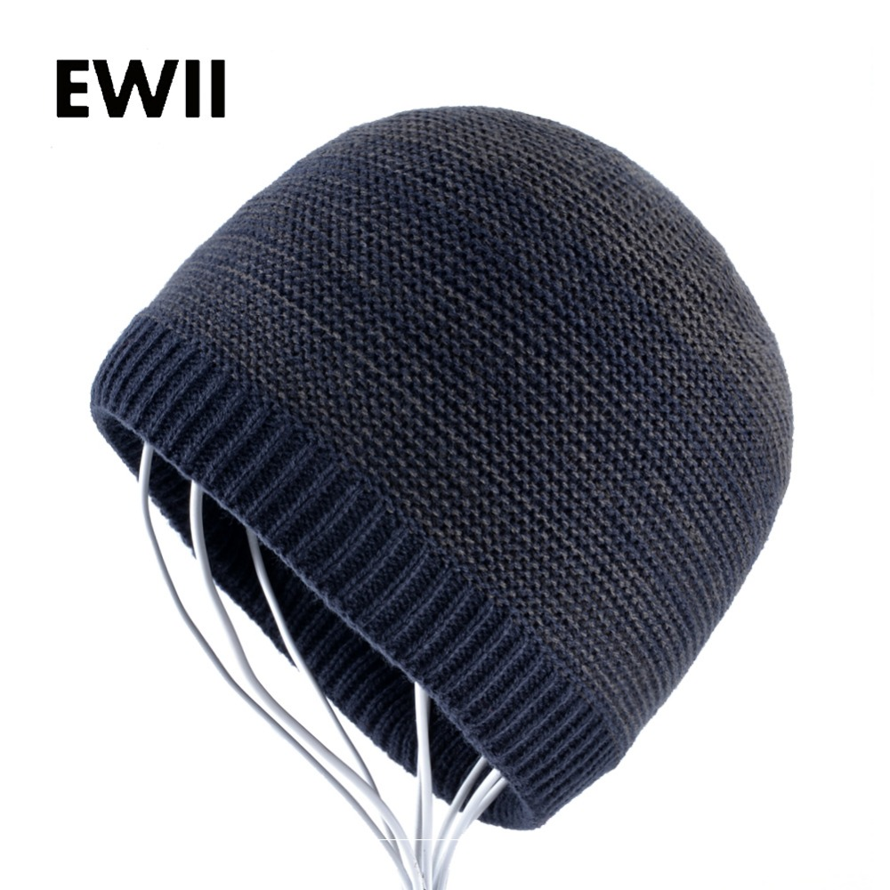 Winter solid color hats for men knitted wool hat skullies beanies warm cap men hip hop beanie caps gorra hombre bonnet winter solid color hats for men knitted wool hat skullies beanies warm cap men hip hop beanie caps gorra hombre bonnet