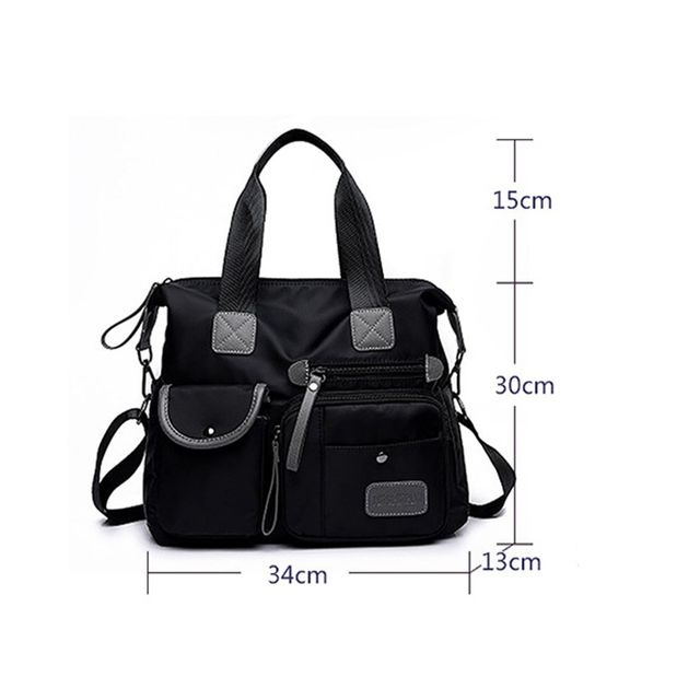 Waterproof Oxford Tote Bag Shoulder Diaper Mummy Bag Large Capacity Women Shopping Bags 4