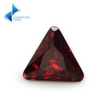 Размер 5*5 ~ 8*8 мм треугольная форма фаски Конер 5a гранат
