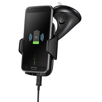 Multi Funtion Qi Wireless Charger Phone Mount Holder Fast Wireless Charging Car Charger For Samsung Galaxy