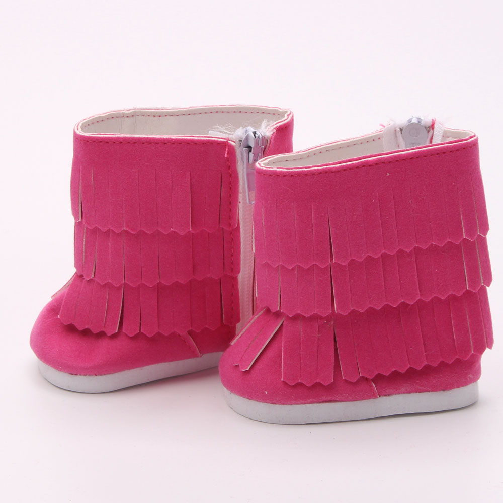 18 American girl dolls of the shoes Leather shoes, sandals, high heels children Christmas gift free shipping ytx-6