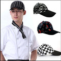 kitchen Cooking Cap Working Cap Chef Hat Cloth Plaid Striped Plain Chef Cook Hat Party Chef Hat baseball cap