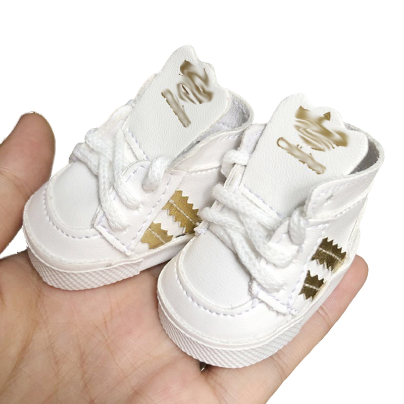 cute little shoes for 14.5inch American doll 20cm EXO BJD doll Children the best Christmas gift image