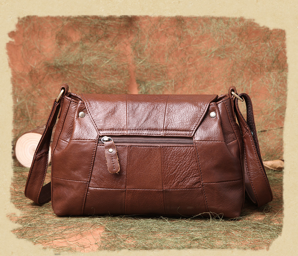 bolsas حقائب الكتف النسائية جلد طبيعي العلامة التجارية 11