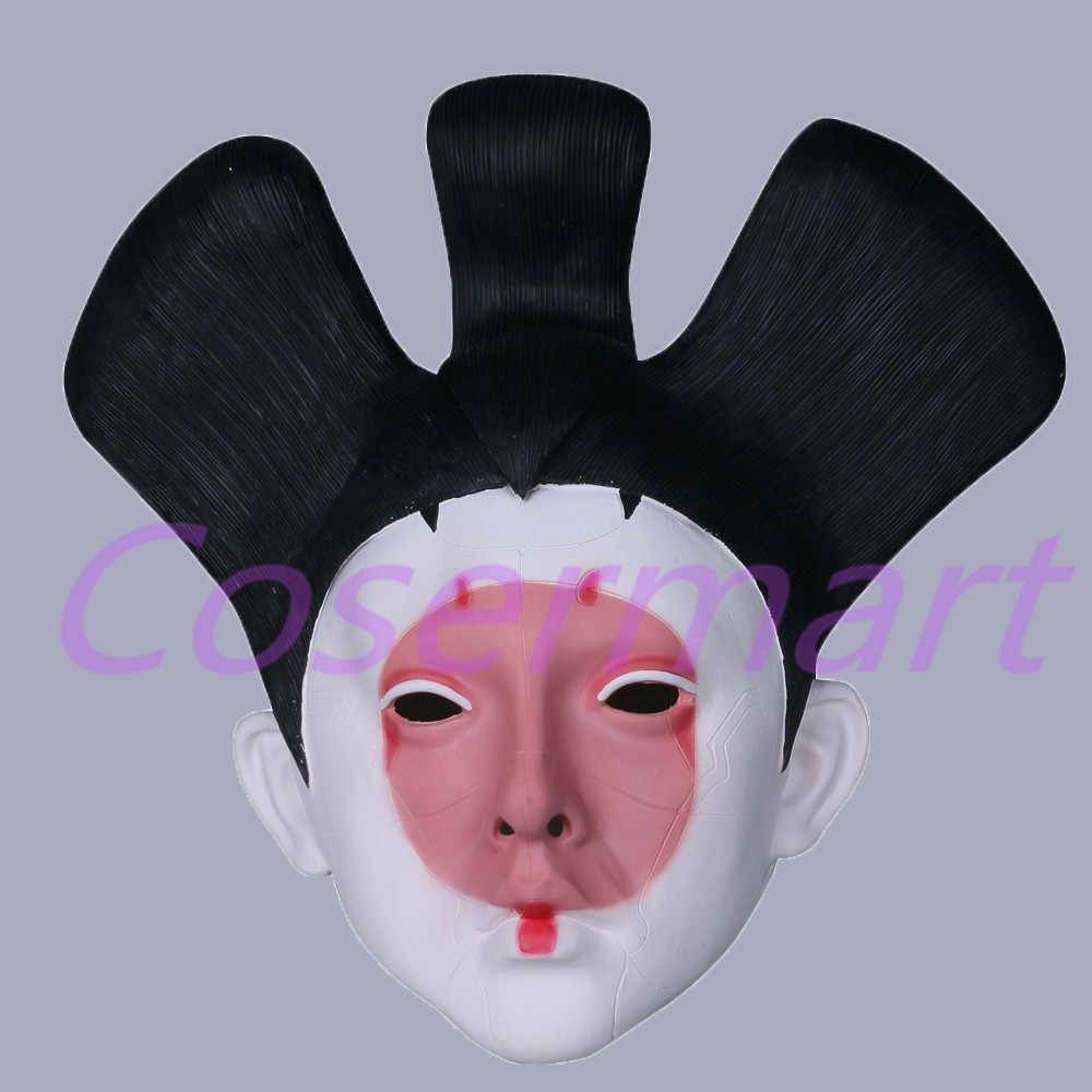 Cos 2017 Movie Ghost In The Shell Masks Geisha Robot Mask Latex New Halloween Party Prop Ghost In Shell Ghost In The Shellghost Movie Aliexpress