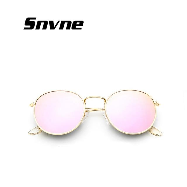 2018 rétro ronde lunettes de soleil femmes hommes marque designer lunettes de soleil pour femmes Alliage de miroir lunettes de soleil lentes oculos femmes de sol