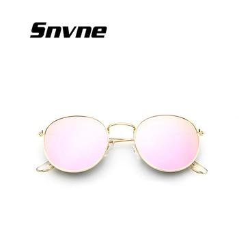 2017 retro round sunglasses women men brand designer sun glasses for women Alloy mirror sunglasses ray female oculos de sol çerçevesiz güneş gözlük modelleri bayan