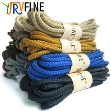 """YJRVFINE Twisted Ronde Boot Lacets [1 Paire] 4/25 """"Épais Heavy Duty et Durable Lacets pour Bottes, Bottes de travail et Randonnée Chaussures"""