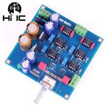 Ссылка MBL6010D Pre усилитель предусилитель Board NE5534 Diy Kits/готовый продукт